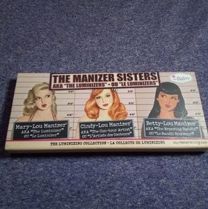 THE BALM THE MANIZER SISTERS LUMINIZING COLLECTION